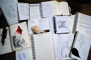 Some of my commonplace books
