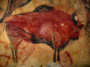 Cave of Altamira, Spain. Paintings date from approximately 20,000 years ago.